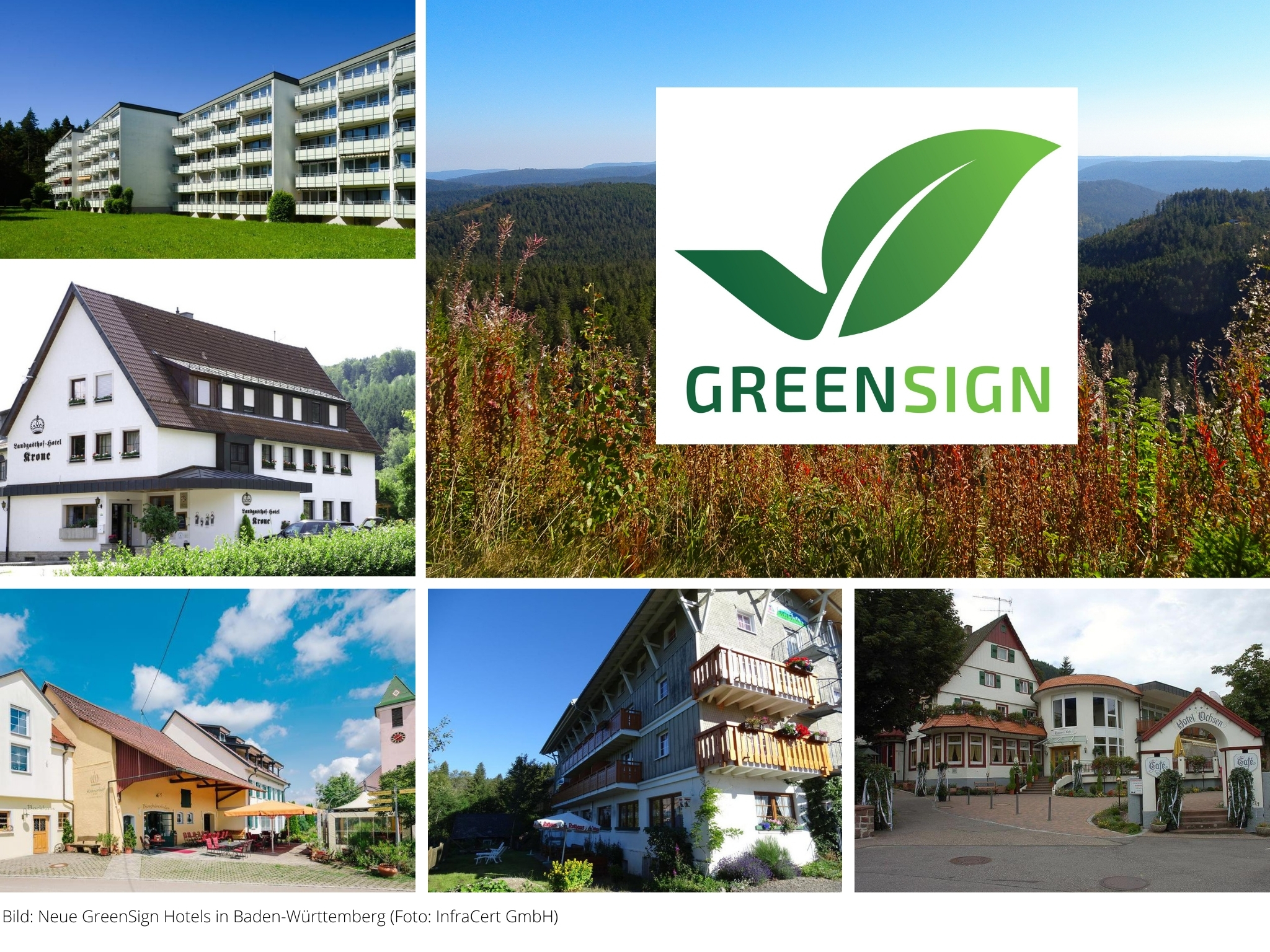GreenSign Hotels Baden Wuerttemberg